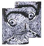 iPad Mini 4 Case, WITCASE Shop Premium PU Leather Wallet Case Folio Flip Kickstand Feature Cover With Card Slot For Apple iPad Mini 4(7.9 Inch) (owl and black inside)
