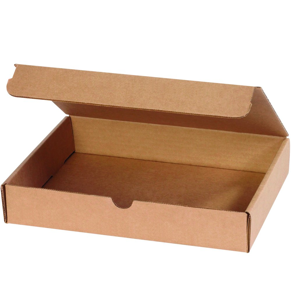 Aviditi Brown Kraft Literature Mailing Boxes, 17 x 11 x 2 1/2 Inches, Pack of 25, Crush-Proof, for Shipping, Mailing and Storing