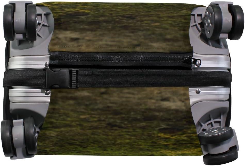OREZI 3D Sheltie Under Tree Luggage Protector Suitcase Cover 18-32 Inch