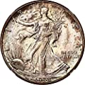 1938 D Walking Liberty Halves Half Dollar MS67 NGC+\CAC