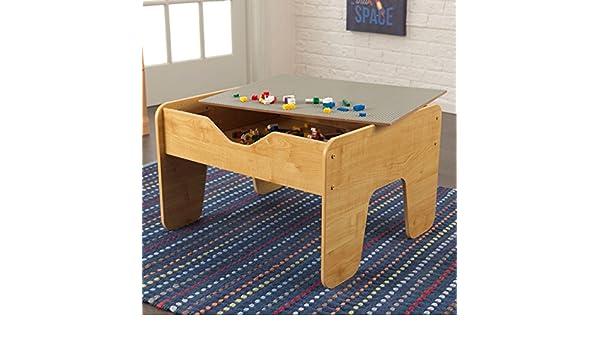 Amazon.com: KidKraft Activity Play Table, Grey/ Natural: Kitchen U0026 Dining