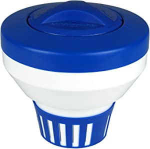 Poolmaster 32155Floating Swimming Pool Chlorine Dispenser, Essential Collection