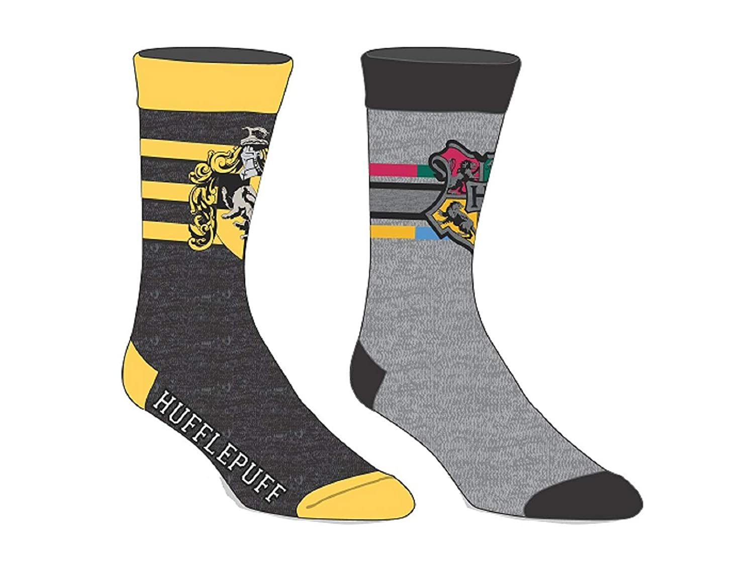 Harry Potter Licensed Adult Crew Socks (Various Designs) (RAVENCLAW)