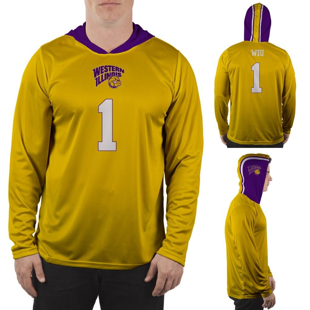 new product d92d5 c2133 Amazon.com: Western Illinois University Leathernecks Hooded ...