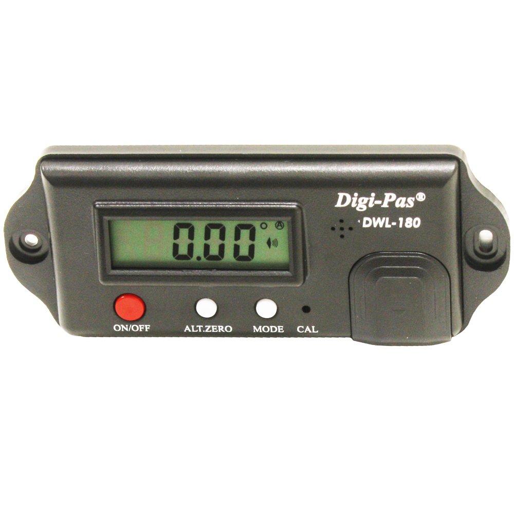 Digi-Pas DWL 180S 0.05 Degree Screw on Digital Angle Level Module/Angle Gauge/Protractor/ Inclinometer DWL-180S