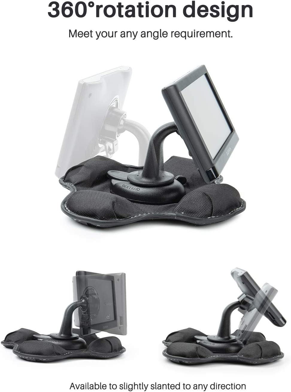 Bestand GPS Dashboard Mount, Portable Friction Mount for Garmin 700/600/300/200 Series and for New Nuvi Series: GPS & Navigation
