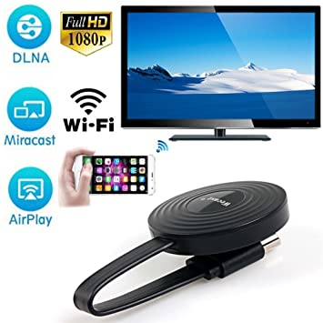 Wireless WiFi 1080P Full HD HDMI Screen TV Receiver Adapter Support DLNA  for Netflix YouTube Miracast AirPlay Mirroring for Android/Mac/iOS/Windows