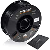 OVERTURE PETG Filament 1.75mm with 3D Build Surface 200 x 200 mm 3D Printer Consumables, 1kg Spool (2.2lbs), Dimensional…