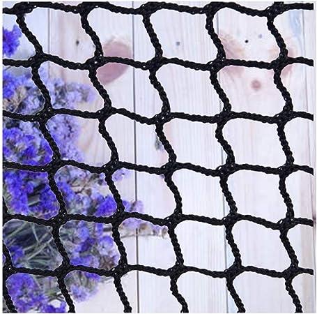 Red Bebe,Red Cuerda Negra Escalera Bebe de Terraza Seguridad Protecciones Niños Deportes Escaleras Protección Gatos para Balcones Malla Nylon Goal Net Redes Bola Campo Aire Libre FúTbol Golf Bola: Amazon.es: Hogar