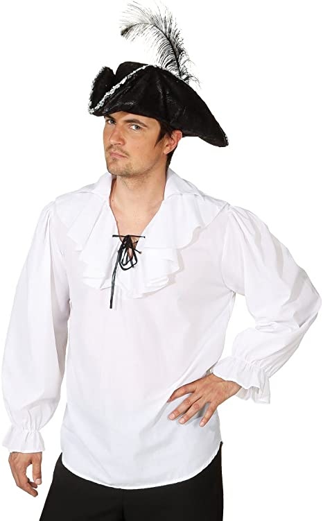 Camiseta de manga larga camisa de pirata piratas camisa para hombre camiseta de manga larga camisa de pirata con diseño de piratas blanco camiseta para hombre compuesta disfraces de carnaval de camisa