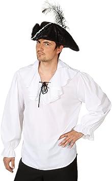 Camiseta de manga larga camisa de pirata piratas camisa para hombre camiseta de manga larga camisa