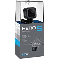 GoPro HERO5 Session Waterproof Camera, Black (CHDHS-502)