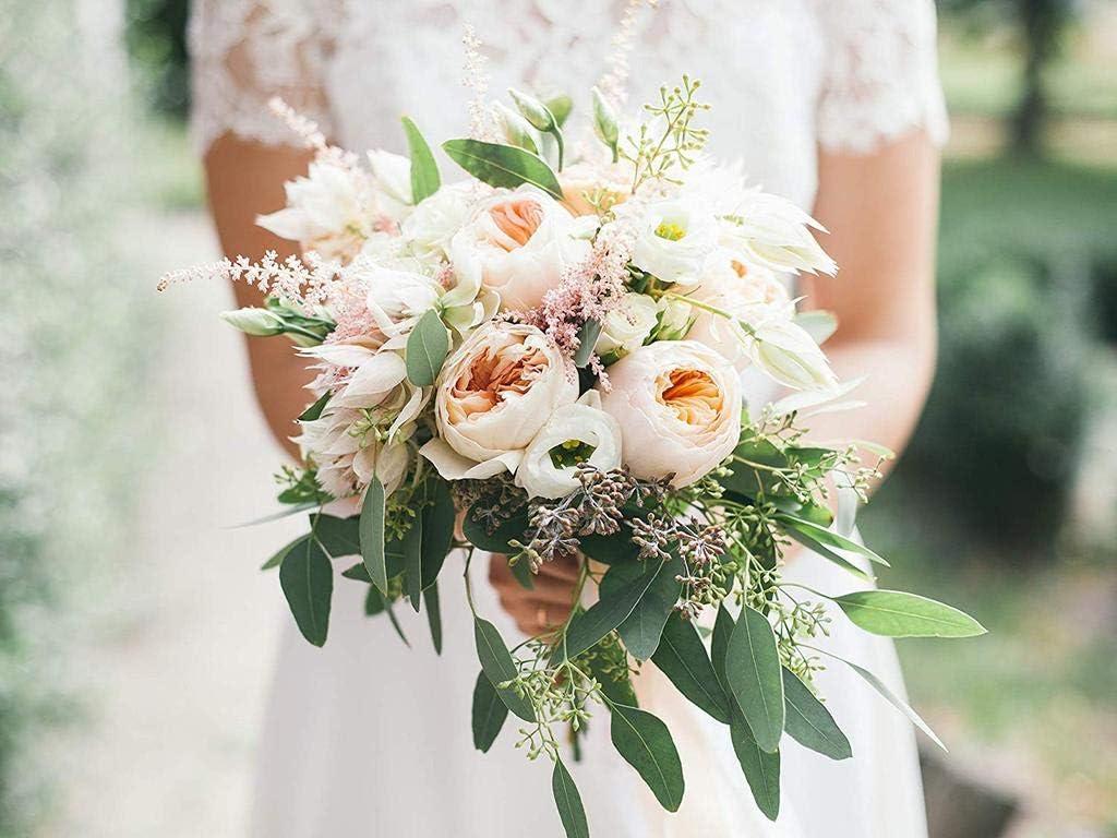 6 Pcs Bride Foam Bouquet Holders Bridal Bouquet Foam Flower Handle Decoration for Wedding Supplies