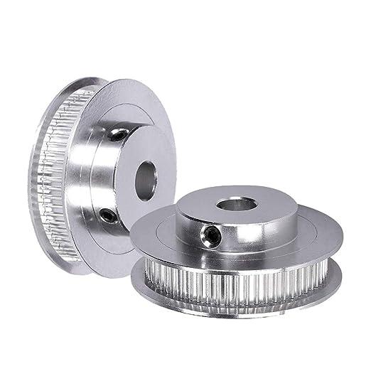 GT2 60 dientes 6,35 mm calibre de aluminio Timing polea tensor ...