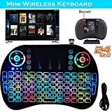 Mchoice Backlight 2.4G Mini Wireless Keyboard Air Mouse Touchpad For Android Smart TV Box PC