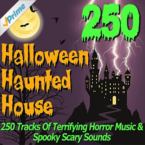 Halloween haunted house 250 tracks of for House music sounds