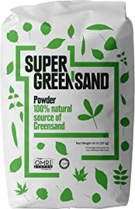 Super Greensand Powder, 68 Minerals and Trace Elements, 44 Pounds