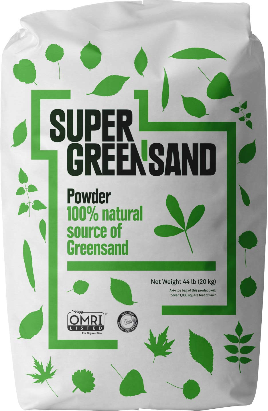 Super Greensand Powder, 70 Minerals and Trace Elements, 44 Pounds by Verde AgriTech