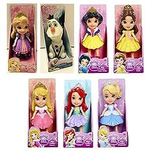 Amazon Com My First Disney Princess Mini Toddler Dolls