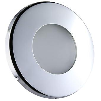 LED Einbaustrahler rund schwarz Downlight Einbauleuchte Set MR16-12V GU10-230V