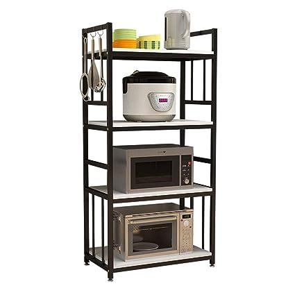 Estante de cocina de pintura de acero estante multifunción estante ...
