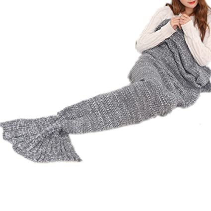 85cfef7a59 Image Unavailable. Image not available for. Color  Followarm Mermaid Tail  Blanket Cute Mermaid Tail Design Girls Teen Sleeping Bag