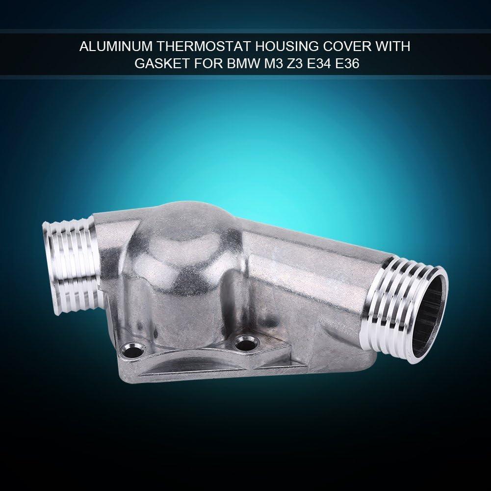 Aluminum Thermostat Housing Cover /& Gasket For BMW M3 Z3 E34 E36 OEM 11531722531