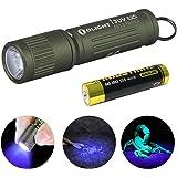 OLIGHT(オーライト) I3UV EOS ブラックライト 懐中電灯 UVライト 紫外線 395NM 蛍光剤検査 真偽鑑定 ミニ軽量 キーホルダーライト 汚れ対策 5年保証 AAA電池