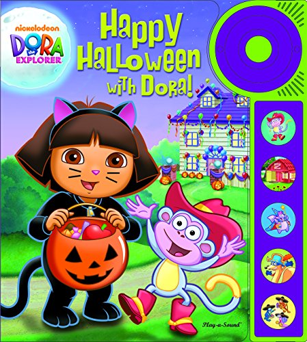 (Happy Halloween with Dora Explorer Play A Sound Book & Buttons Doorbell)