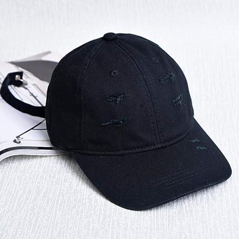Almenyy Gorra de Beisbol Moda para Hombre Gorras Blancas sólido ...