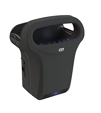 Seca manos aire comprimido JVD Collection exp Air negro automático