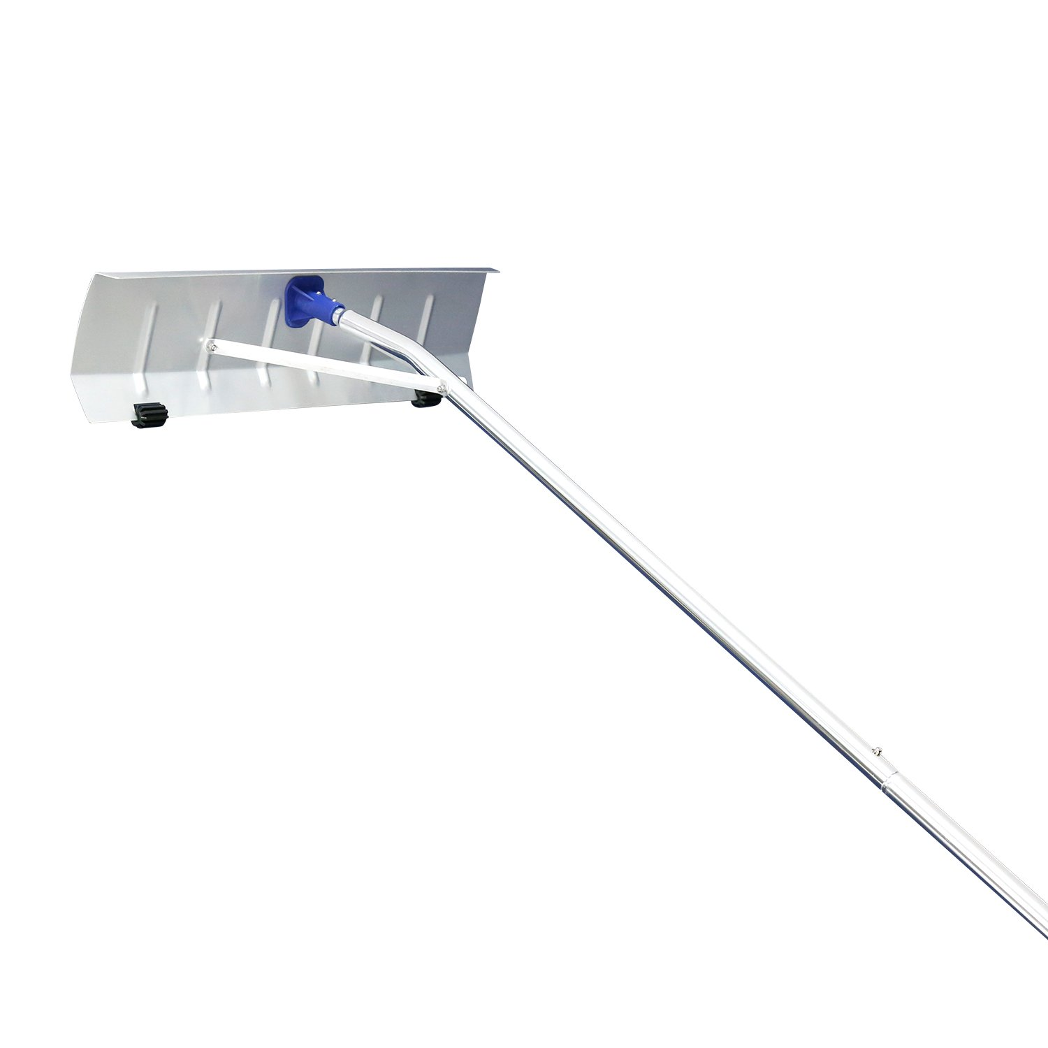 Peach Tree 21' Snow Shovel Roof Rake with 6'' by 25'' Poly Blade