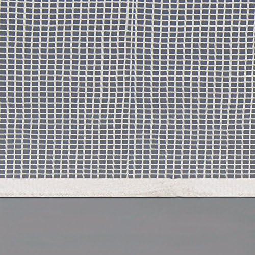 incluye cinta de fijaci/ón blanco 2er Set de forma individual regulable 2er o de 4P juego de mosquitera ventana de celos/ía poli/éster disponible en varios coloures y tama/ños 100 x 100 cm