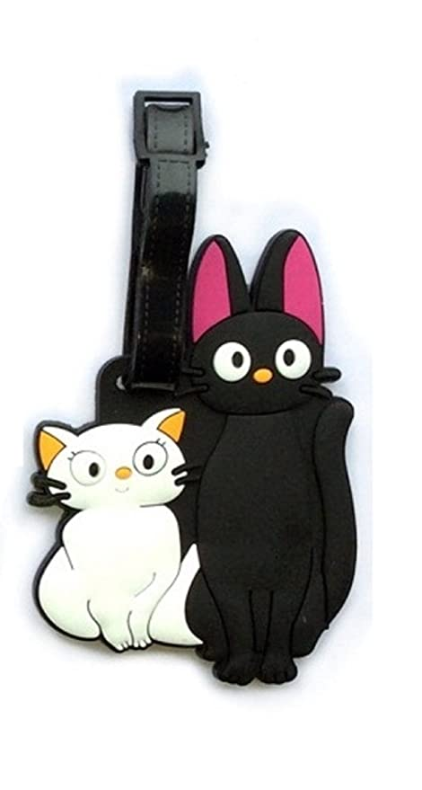 Amazon.com  Cute Silicone Kitty Cats Luggage Tags ID for Travel and ... 5a021f2e6e628