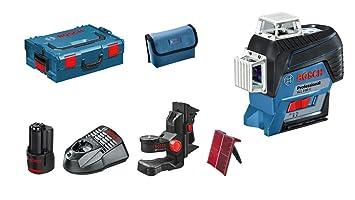 Laser Entfernungsmesser Linienlaser : Bosch professional linienlaser gll 3 80 c 1x 2 0 ah akku 12 volt