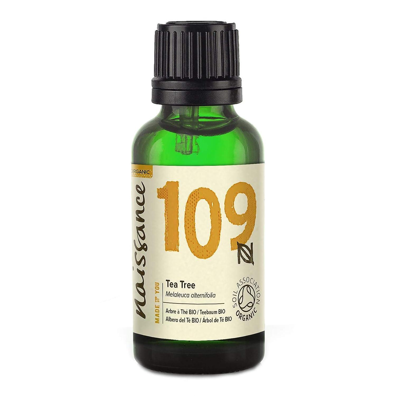 Naissance Aceite Esencial de Árbol de Té BIO n. º 109 – 30ml - 100% Puro, vegano, certificado ecológico y no OGM