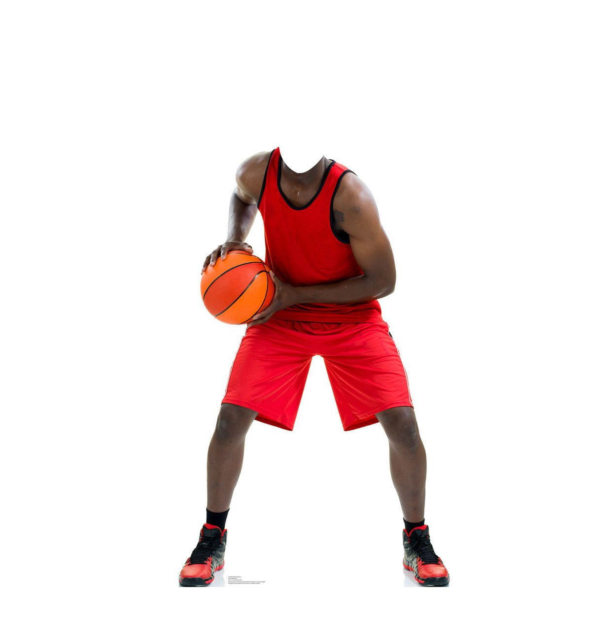 Basketball Player Stand-In - Advanced Graphics Life Size Cardboard Standup by Advanced Graphics