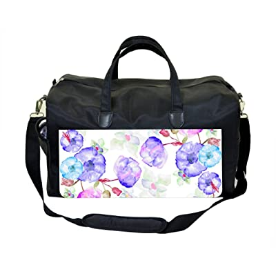 03-Watercolor Florals Weekender Bag
