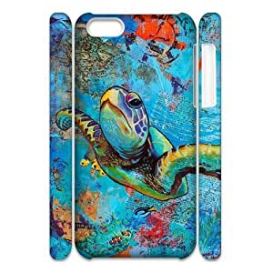 linJUN FENGSea Turtle Brand New 3D Cover Case for iphone 4/4s,diy case cover ygtg565759