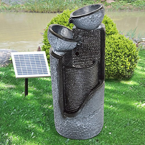 solar gartenbrunnen mit akku abdeckung ablauf dusche. Black Bedroom Furniture Sets. Home Design Ideas