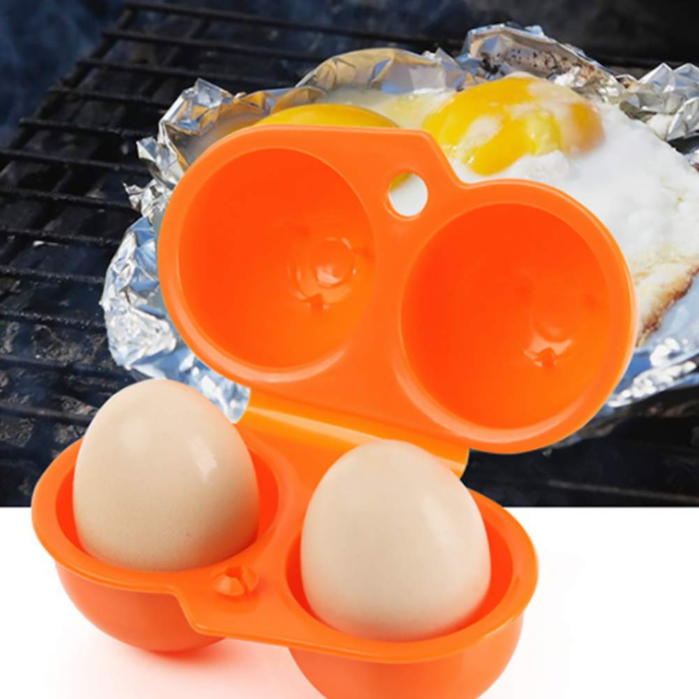 storage box egg shell picnic outdoor camping shelf hiking container blue 1 foldable portable plastic egg holder with 2 casts