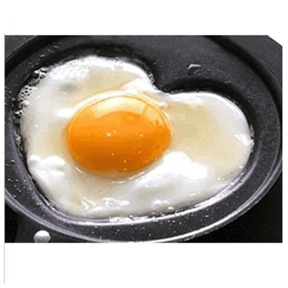 Buy Egg Pan  Mini Cute Heart Shape Nonstick Breakfast Omelette Pan Egg  Frying Pan Without Lid  Pancake Pan By Karp Online At Low Prices In India