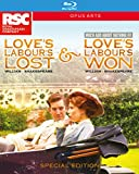 Shakespeare: Love's Labour's Lost & Love's Labour's Won (Much Ado About Nothing) [Special Box Set] [Blu-ray]