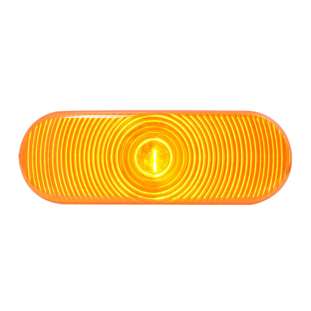 Grand General 80800 Oval Amber Sealed Light