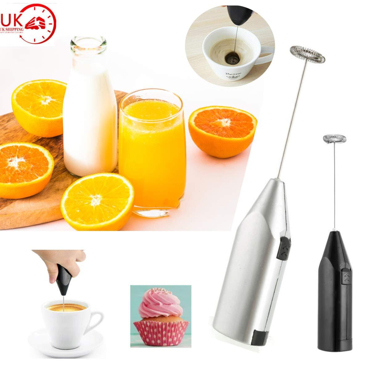 Yudanny Mode Batteur /À Oeufs Boissons Milk-Shake Mousse Fouet M/élangeur /Électrique Cadeau Shaker