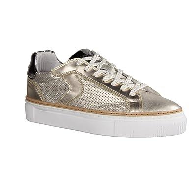 Maca Kitzbühl 2245 - Damen Schuhe Sneaker - Lightgold, Größe:40 EU Maca Kitzbühel