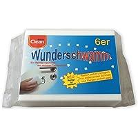 Elina Clean - Paquete de 6 esponjas limpiadoras