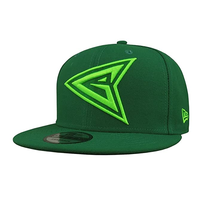 914fb2badb4f3 Image Unavailable. Image not available for. Color  Green Arrow Symbol  9Fifty Adjustable Hat