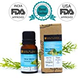 Soulflower Essential Oil Tea Tree Nett Vol, 15ml