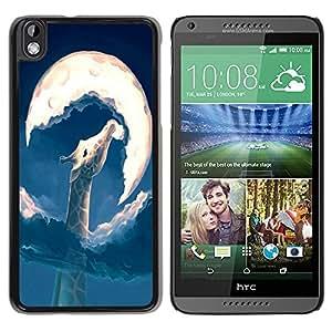 Dragon Case - FOR HTC DESIRE 816 - get out of the way - Caja protectora de pl??stico duro de la cubierta Dise?¡Ào Slim Fit